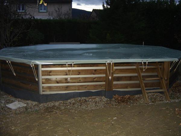 Piscine waterclip semi enterr e piscines r alisations for Piscine 92